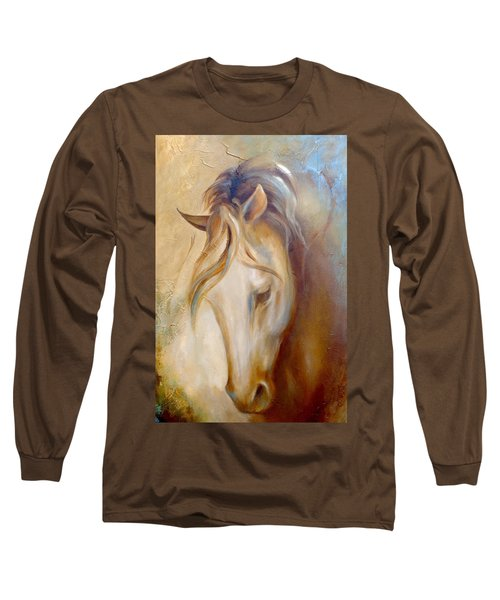 Gold Dust 2 Long Sleeve T-Shirt by Dina Dargo