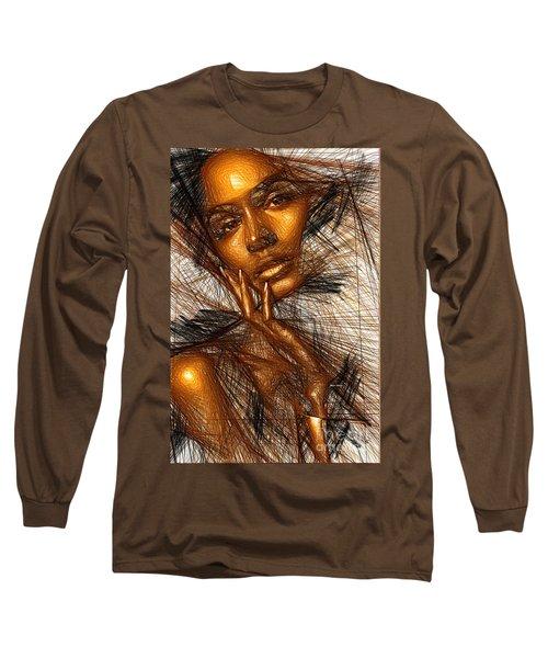 Gold Fingers Long Sleeve T-Shirt