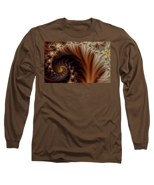 Gold In Them Hills Long Sleeve T-Shirt by Clayton Bruster
