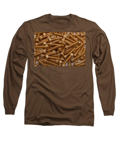 Gold Plated Screws Long Sleeve T-Shirt