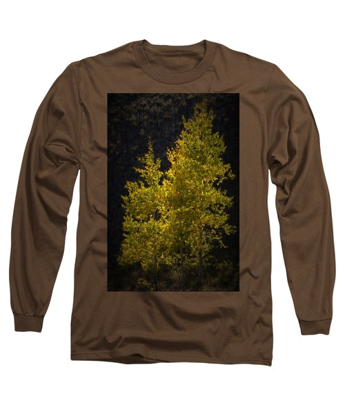 Golden Aspen Long Sleeve T-Shirt