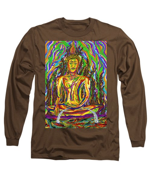 Golden Buddha Long Sleeve T-Shirt