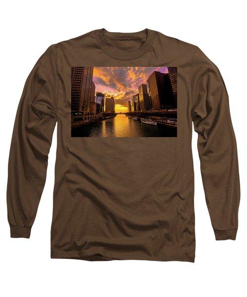 Golden Chi Long Sleeve T-Shirt