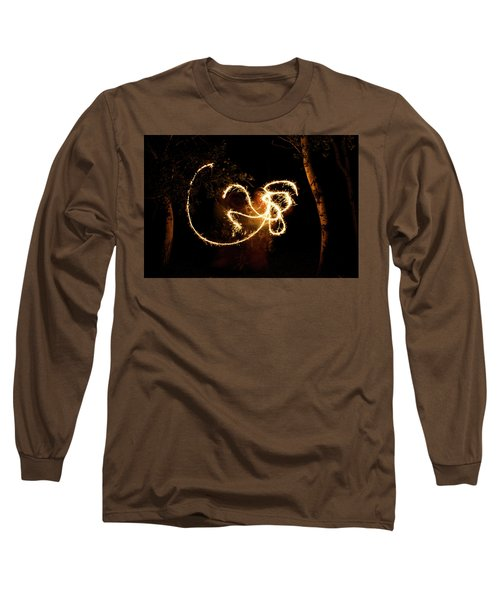 Golden Dragon Long Sleeve T-Shirt