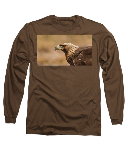 Long Sleeve T-Shirt featuring the photograph Golden Eagle's Portrait by Torbjorn Swenelius