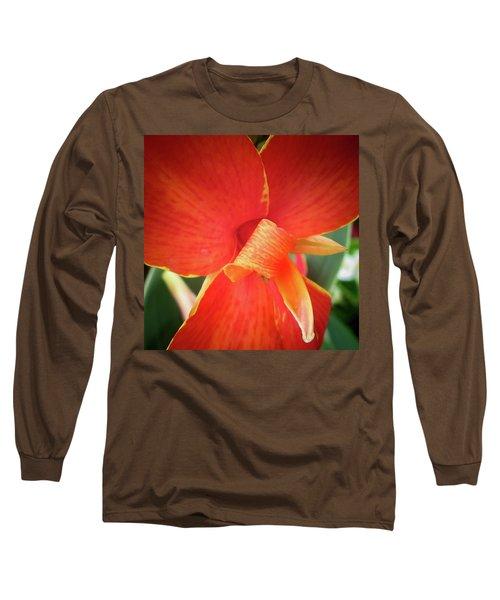 Long Sleeve T-Shirt featuring the photograph Golden Edge by David Coblitz