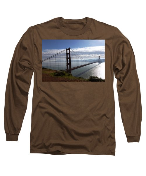Long Sleeve T-Shirt featuring the photograph Golden Gate Bridge-2 by Steven Spak
