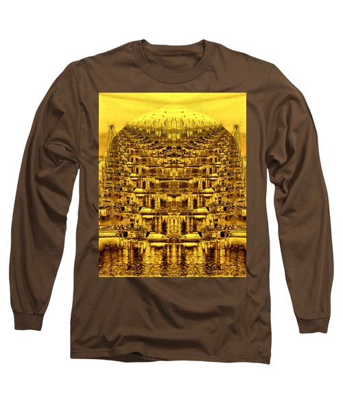 Long Sleeve T-Shirt featuring the photograph Golden Globe by Bob Wall