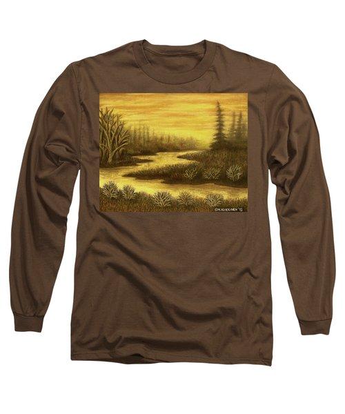 Golden River 01 Long Sleeve T-Shirt