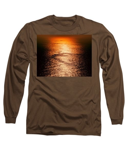 Golden Sea In Alanya Long Sleeve T-Shirt