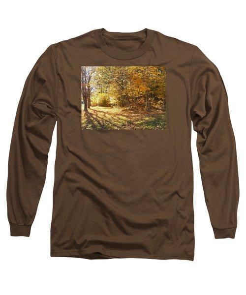 Golden Stairway Long Sleeve T-Shirt