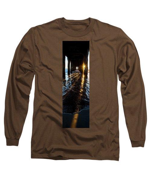 Golden Stripes Long Sleeve T-Shirt