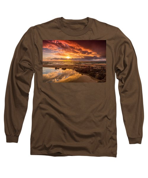 Golden Sunset Long Sleeve T-Shirt