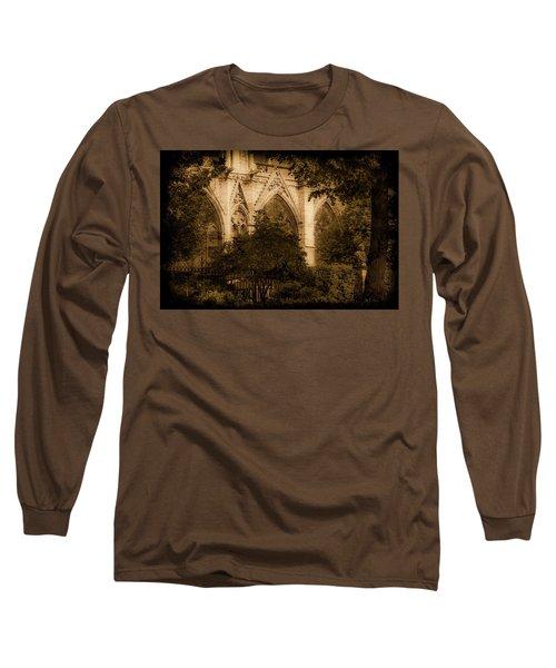 Paris, France - Goldoni In The Park Long Sleeve T-Shirt