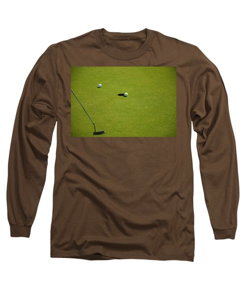 Golf - The Longest Inch Long Sleeve T-Shirt by Chris Flees