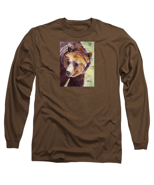 Good Day Sunshine - Grizzly Bear Long Sleeve T-Shirt