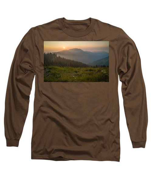 Goodnight Mountains Long Sleeve T-Shirt