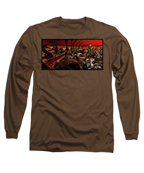 Gored-explored Long Sleeve T-Shirt