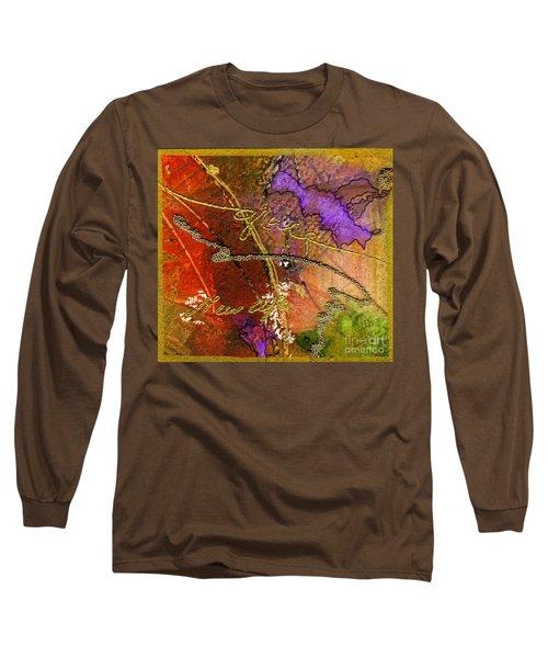 Grace Long Sleeve T-Shirt by Angela L Walker