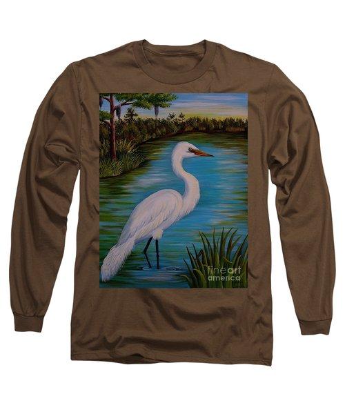 Gracefully Waiting Long Sleeve T-Shirt