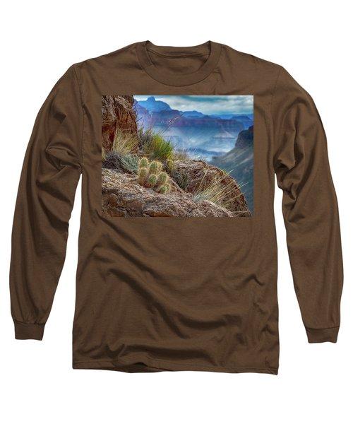 Grand Canyon Cactus Long Sleeve T-Shirt