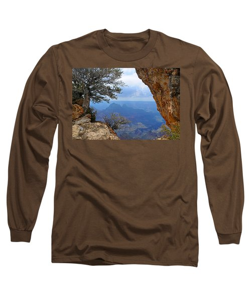 Grand Canyon North Rim Window In The Rock Long Sleeve T-Shirt