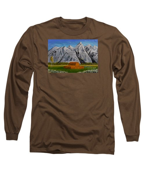 Grand Tetons Long Sleeve T-Shirt