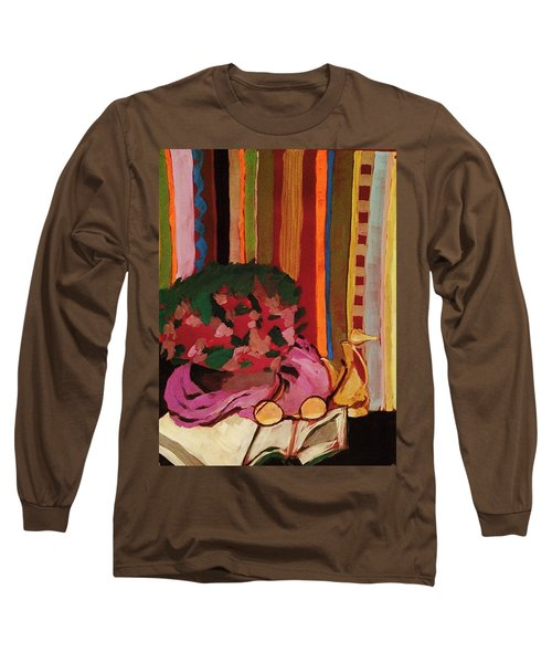 Grandma's Glasses Long Sleeve T-Shirt by Manuela Constantin