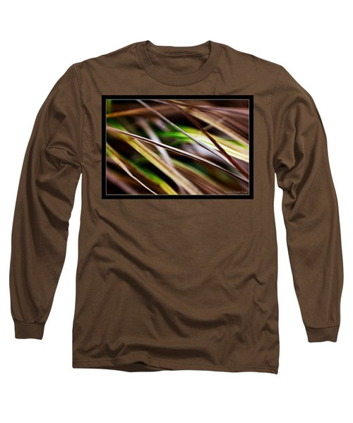 Grass Long Sleeve T-Shirt by Michaela Preston