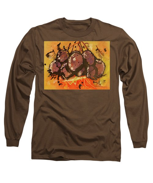 Grasshopper Long Sleeve T-Shirt by Cynthia Powell
