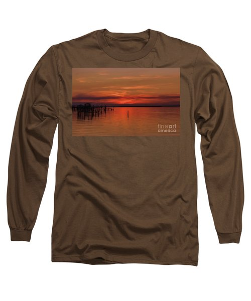 Grateful Long Sleeve T-Shirt by Roberta Byram