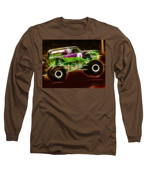 Grave Digger Monster Truck Long Sleeve T-Shirt