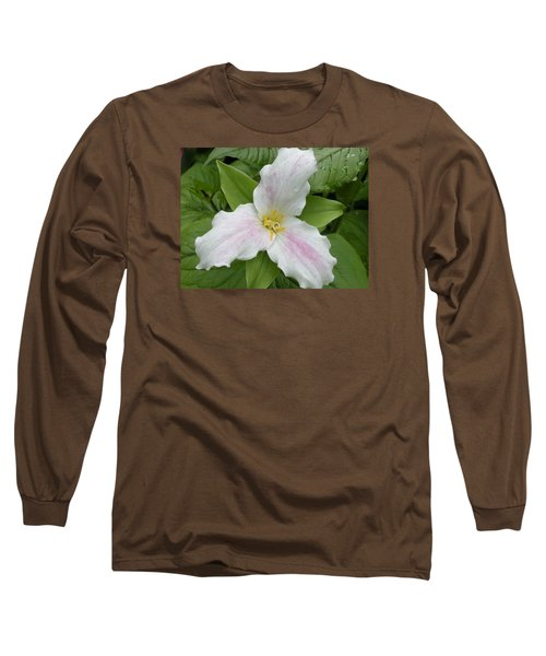 Great White Trillium Long Sleeve T-Shirt