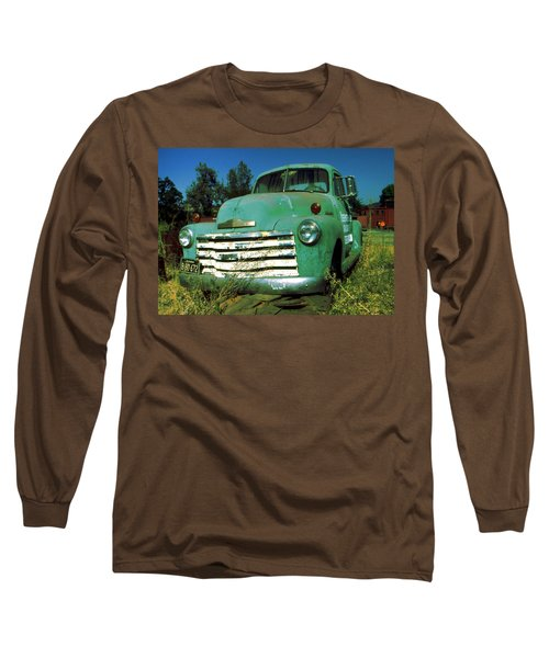 Green Pickup Truck 1959 Long Sleeve T-Shirt