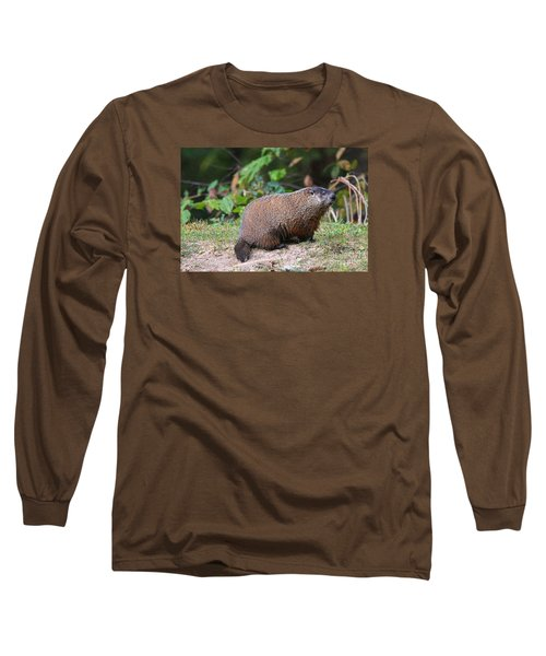 Groundhog  0590 Long Sleeve T-Shirt by Jack Schultz