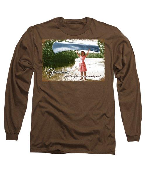 Grumman Canoe Long Sleeve T-Shirt