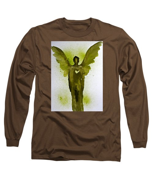 Guardian Angels Golden Heart Long Sleeve T-Shirt