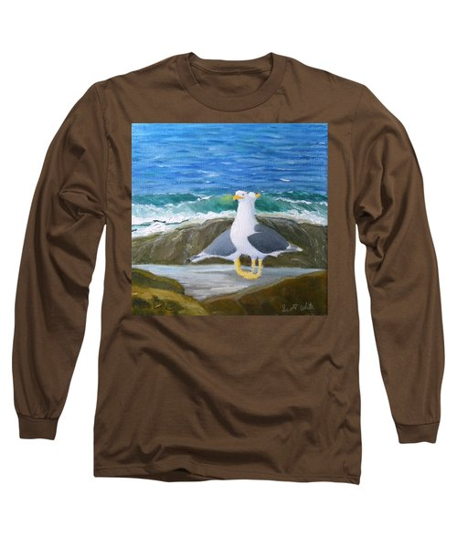 Guarding The Land And Sea Long Sleeve T-Shirt