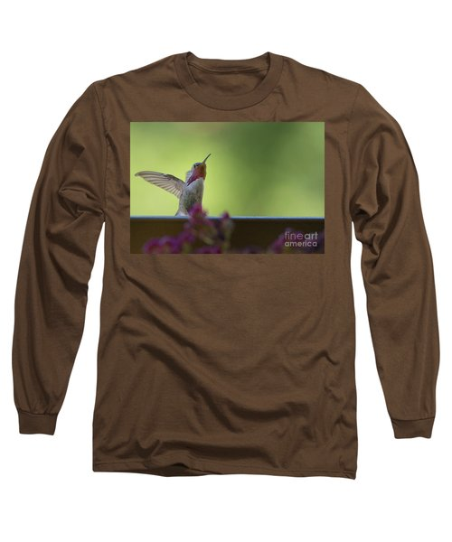 Guarding The Turf Long Sleeve T-Shirt by Anne Rodkin