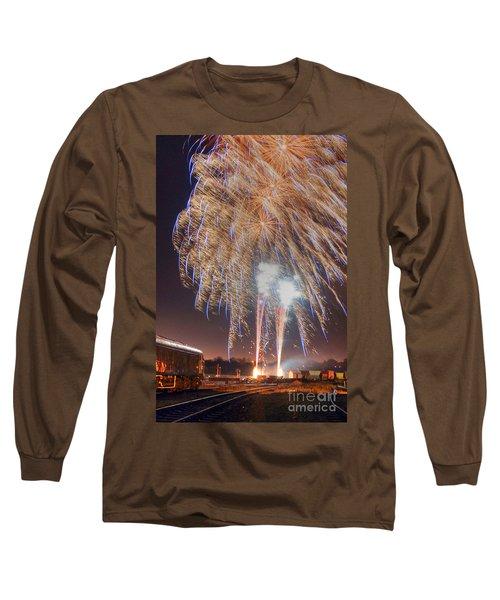 Guy Fawkes Night Fireworks Long Sleeve T-Shirt