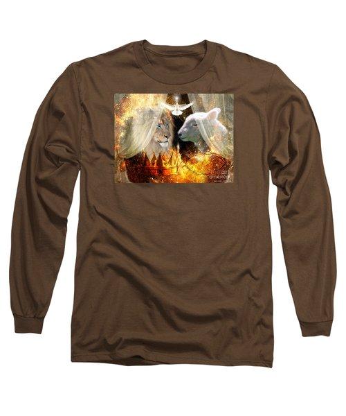 Ha-shilush Ha-kadosh  Long Sleeve T-Shirt by Dolores Develde