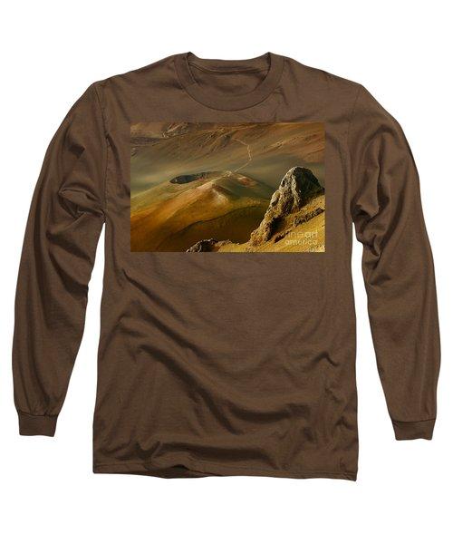 Haleakala Caldera Long Sleeve T-Shirt