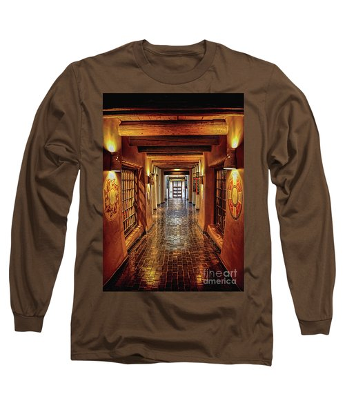 Long Sleeve T-Shirt featuring the photograph Halls Of Loretto by Gina Savage