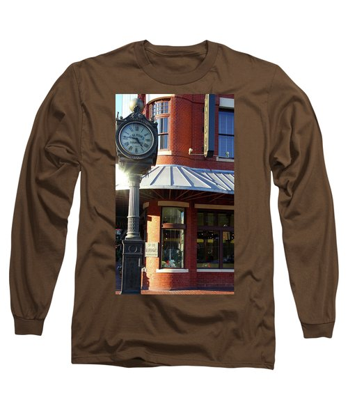 Haltoms Diamonds Clock Long Sleeve T-Shirt