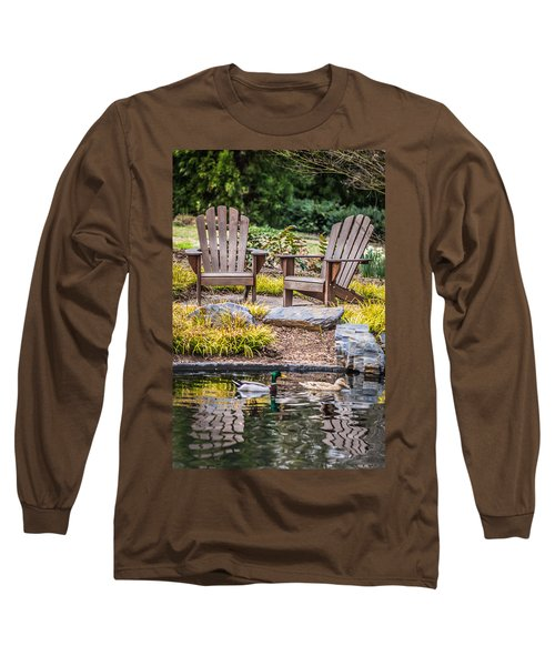 Long Sleeve T-Shirt featuring the photograph Happiness Goes On by Wade Brooks