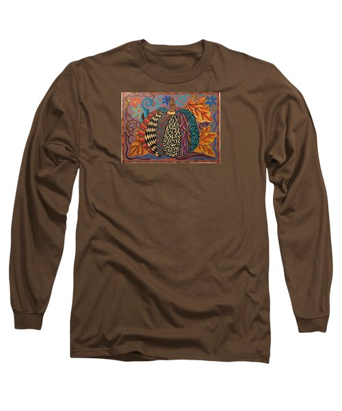Happy Autumn  Long Sleeve T-Shirt by Molly Williams