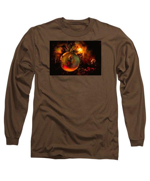 Happy Holidays Background Long Sleeve T-Shirt