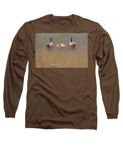 Happy Lake Family Long Sleeve T-Shirt