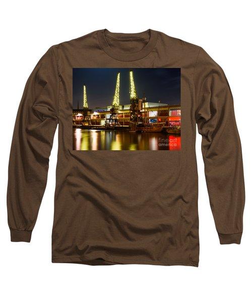 Harbour Cranes Long Sleeve T-Shirt