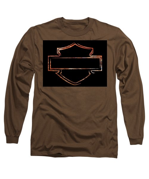 Long Sleeve T-Shirt featuring the digital art Harley  by Jamie Lynn